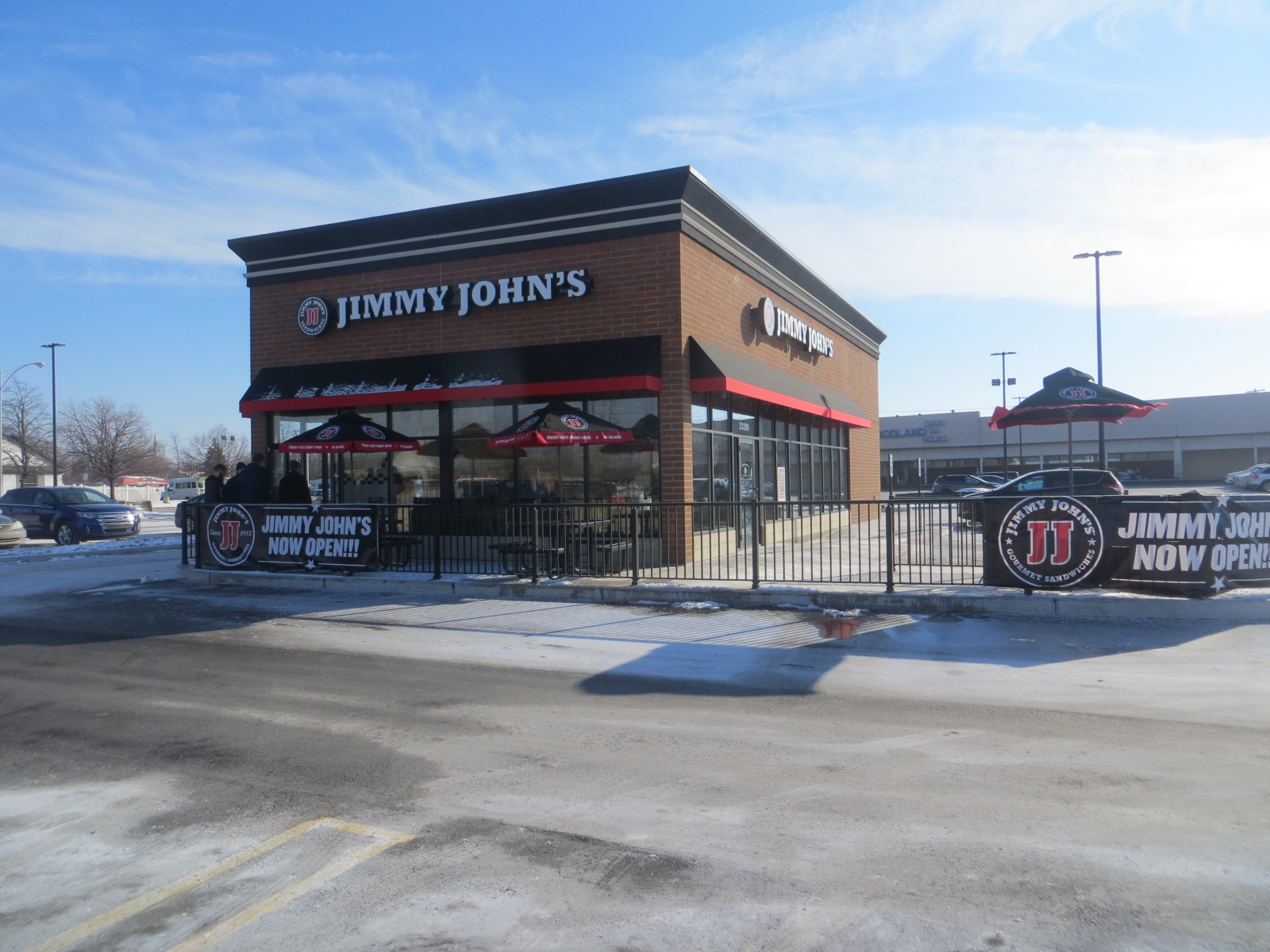 Jimmy Johns Sandwiches Constructed A Free Standing Location With Drive Through Service On Plymouth Road Near Farmington The Shop Will Relocate From