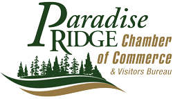 Paradise Ridge Chamber of Commerce & Visitors Bureau Logo