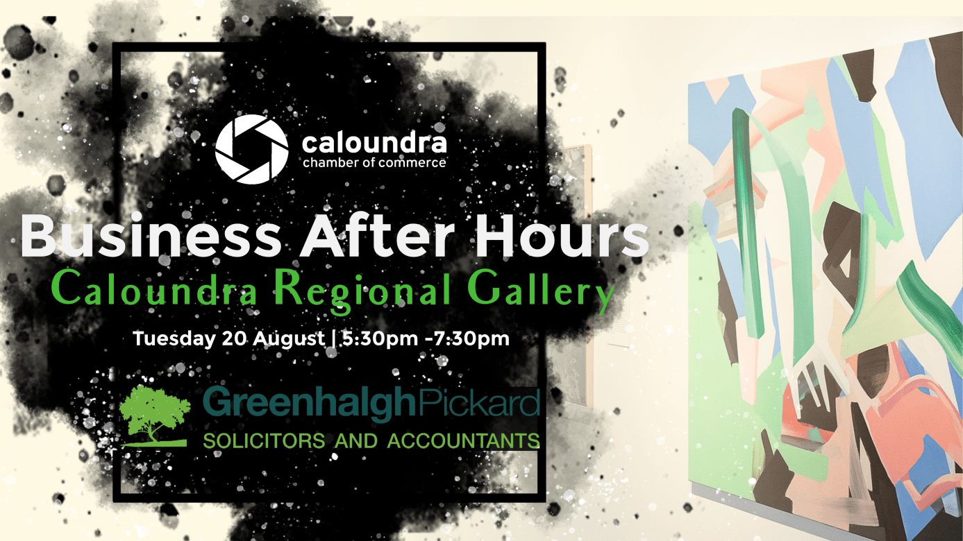 Business After Hours Networking Night Caloundra Regional Gallery