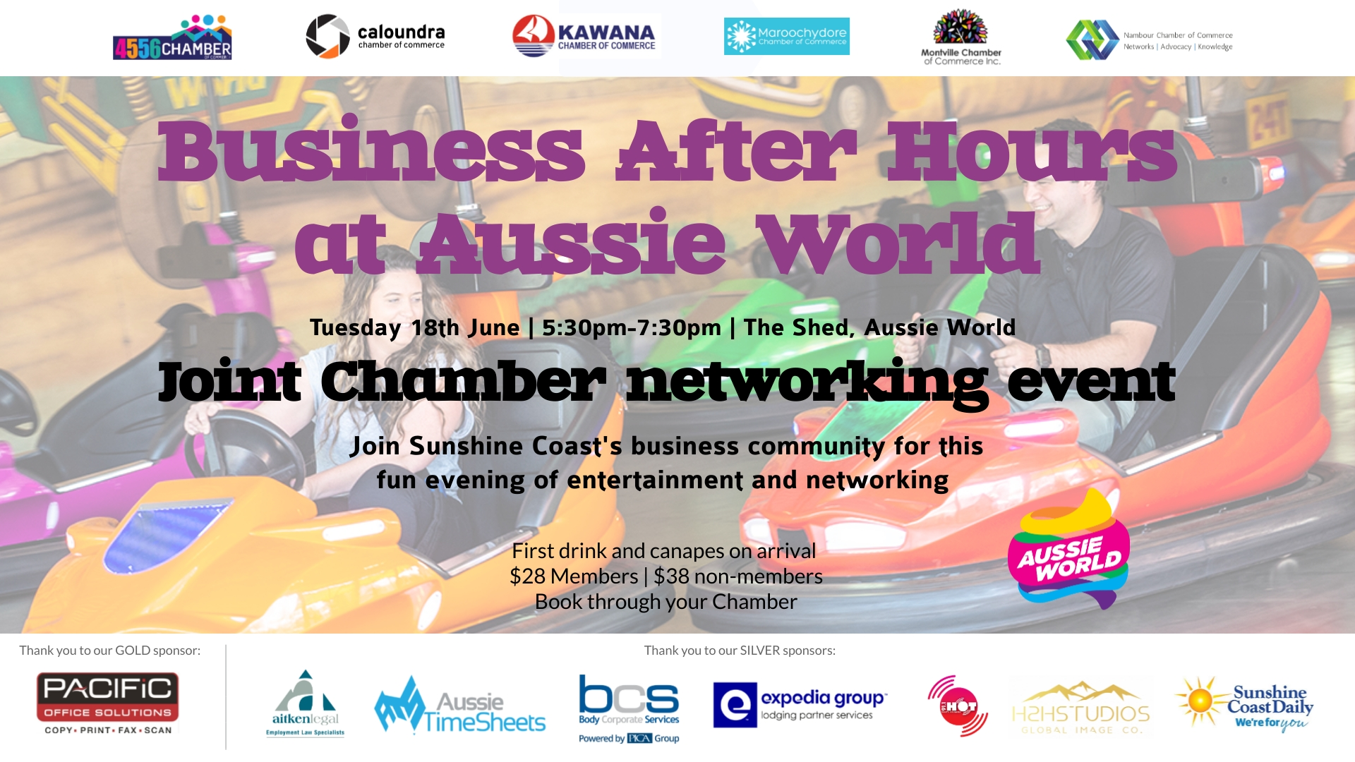 Joint Chamber Business After Hours Event