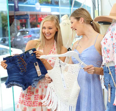 Coastal fashion in caloundra sunshine coast