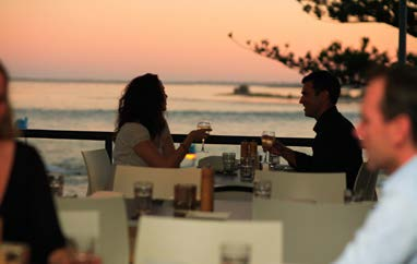 Eating dining out caloundra sunshine coast