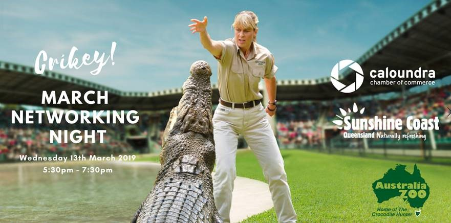 http://www.caloundrachamber.com.au/events/details/business-after-hours-at-australia-zoo-146