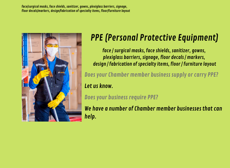 Click HERE for our member PPE suppliers