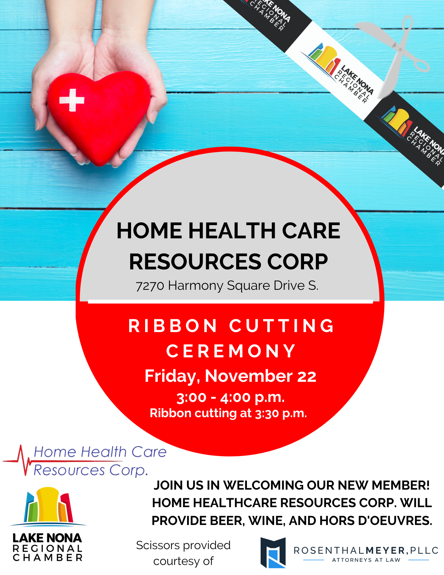 Home-Healthcare-Ribbon-Cutting-Flyer