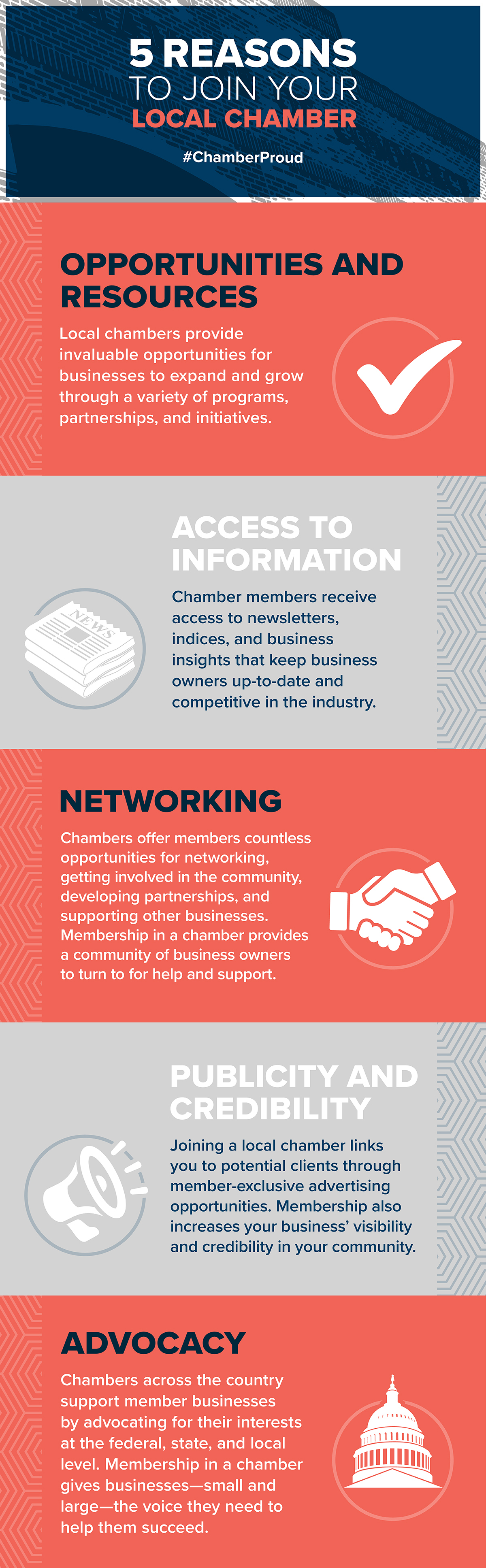 Five Reasons to Join the Chamber October 2019