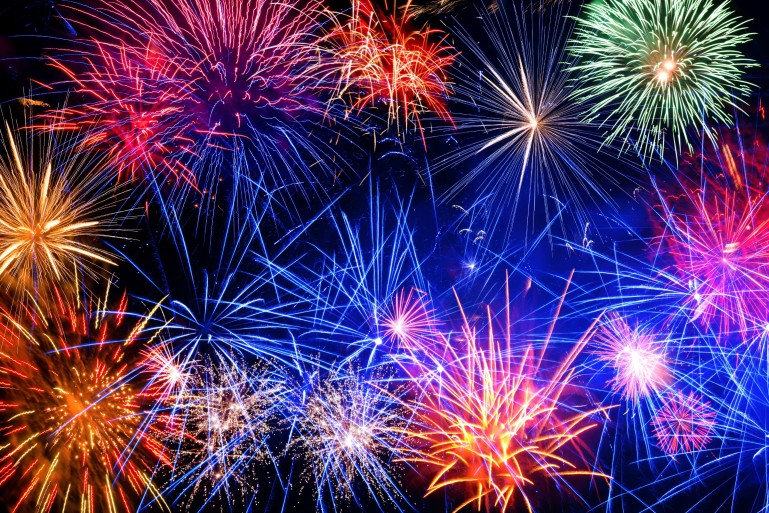 Fire Works Celebration t the Fairgrounds on July 3rd
