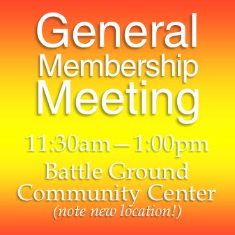 June 1st General Meeting