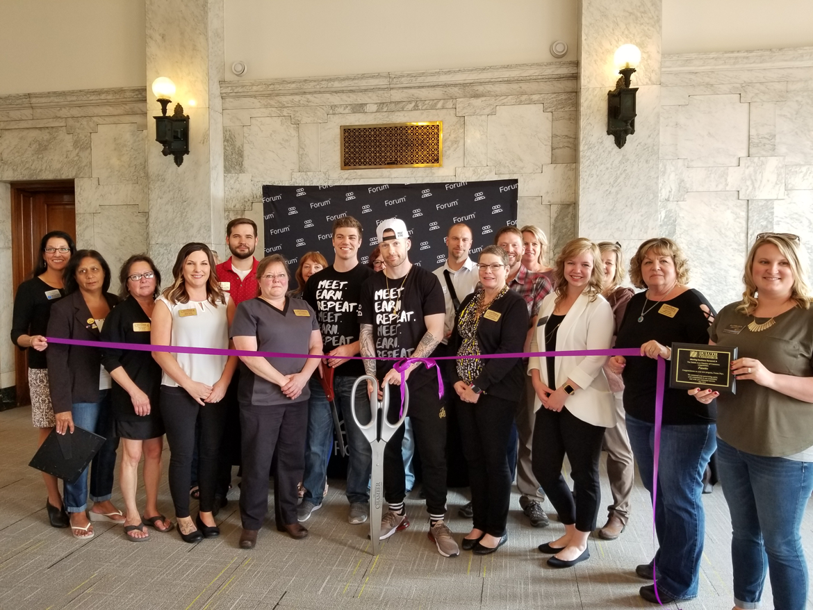 Fasetto Forum Pays Ribbon Cutting on May 31, 2019