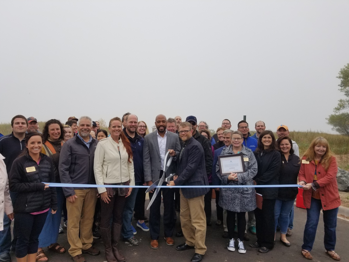 Ribbon Cutting For Wisconsin Point