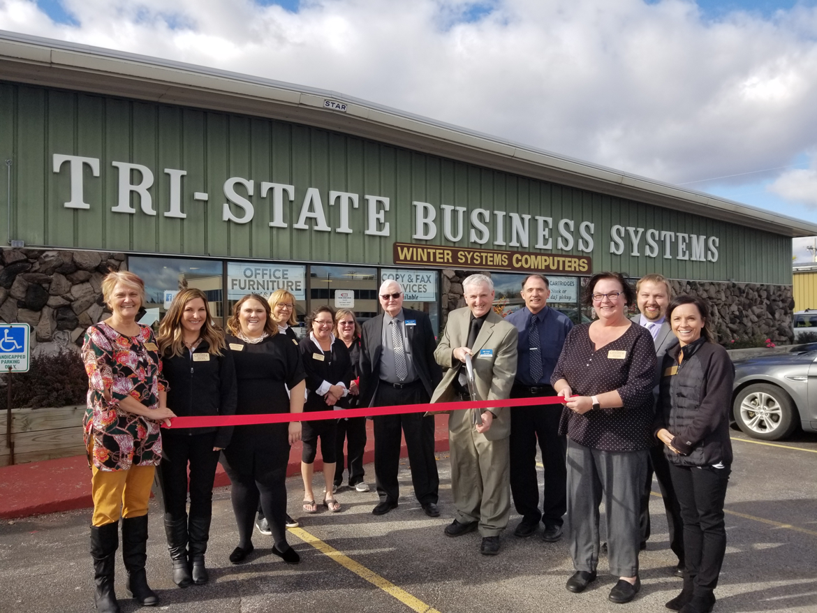 Tri-State Business Systems Ribbon Cutting