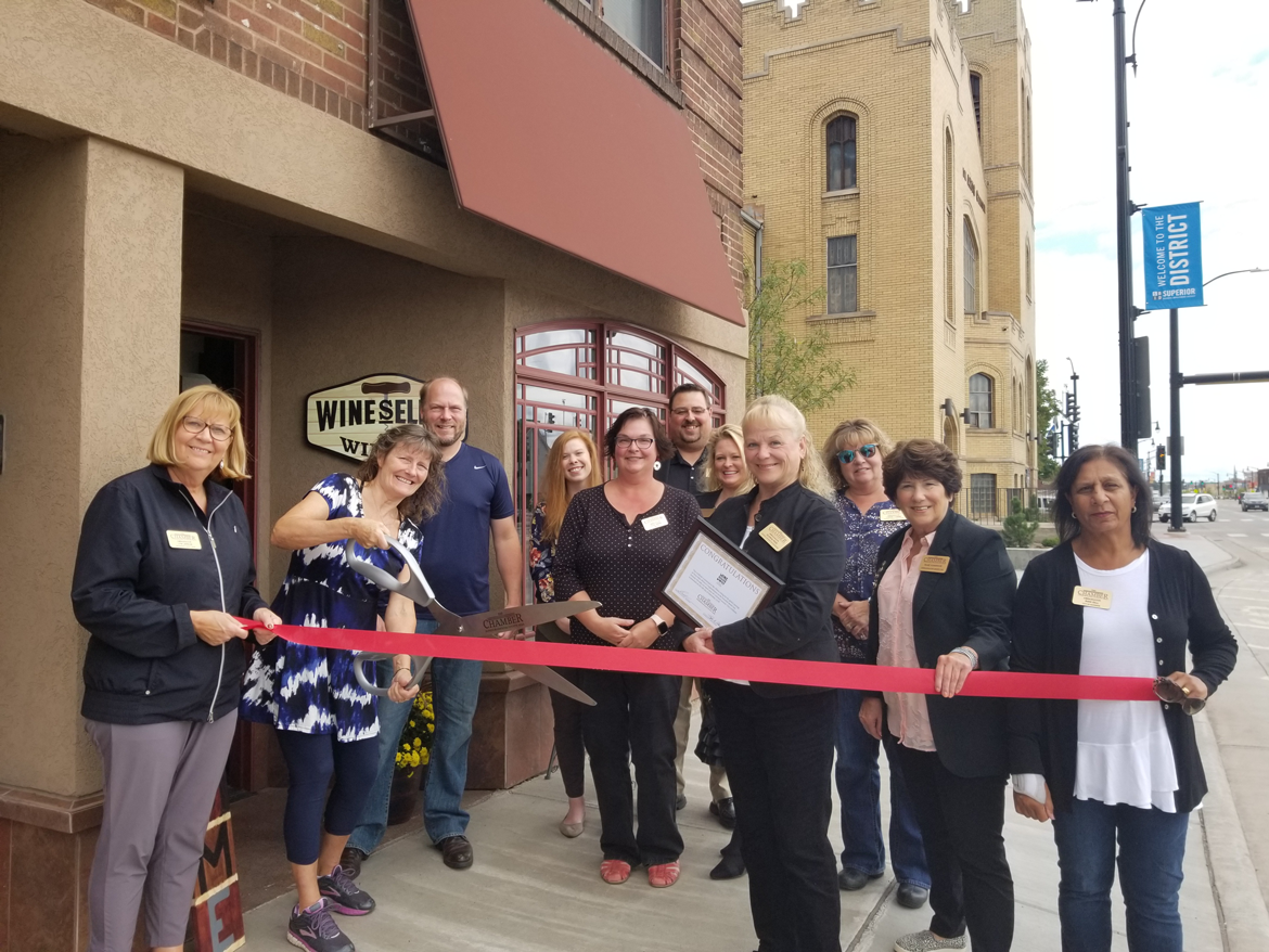 Ribbon Cutting for Wine Seller Winery