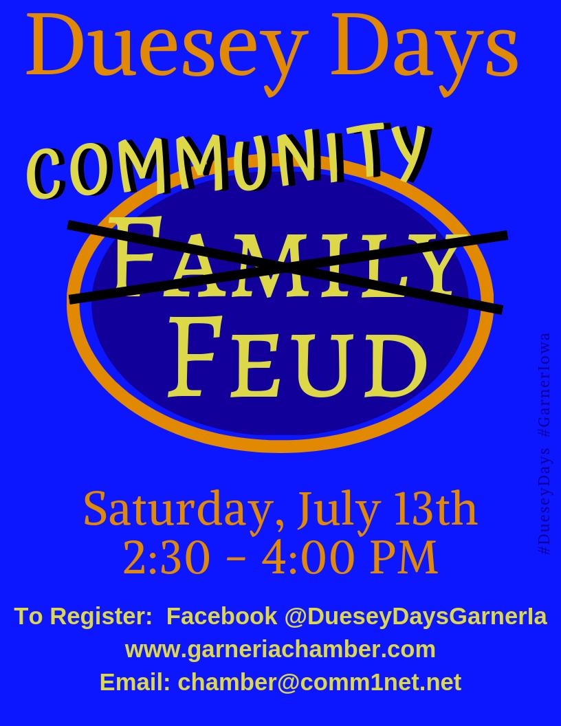 Family Feud Registration