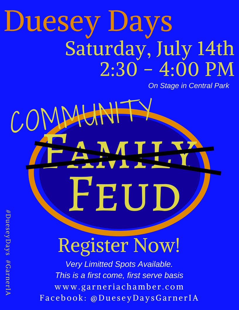 Family Feud Registration