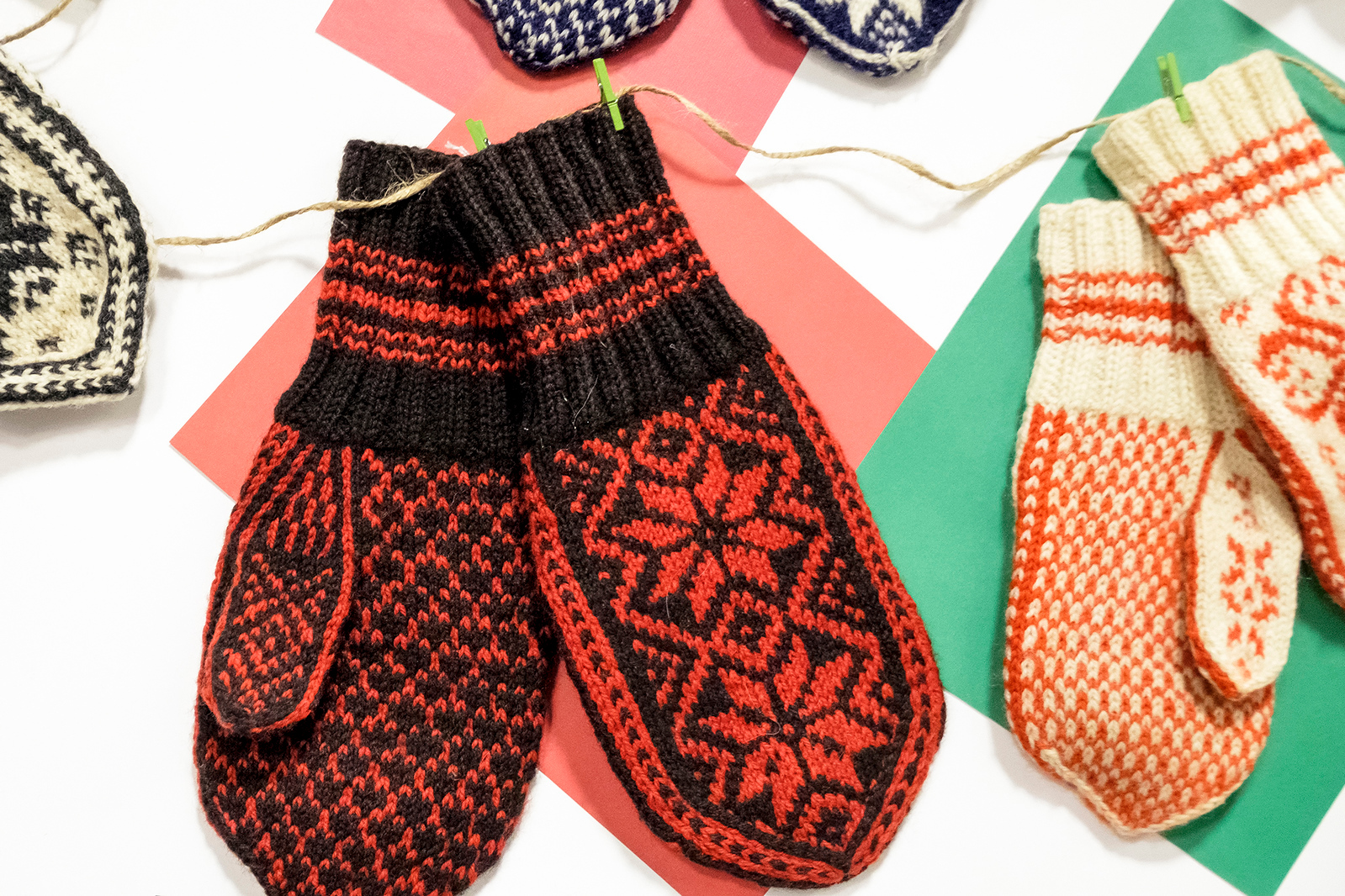 Selbu Mittens at Livsreise