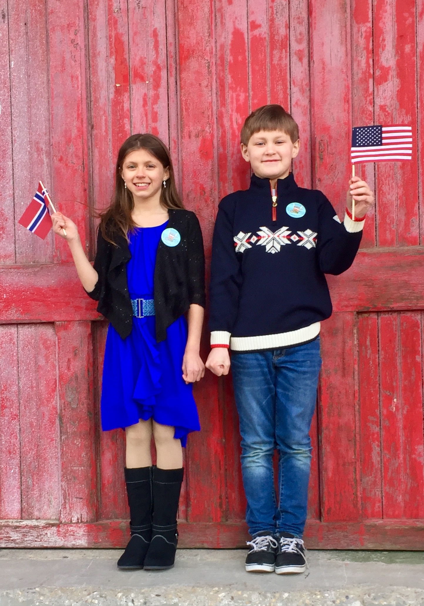 2017 Syttende Mai Festival Prince and Princess