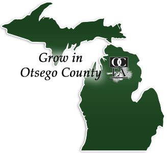 Otsego County Gaylord MI Map