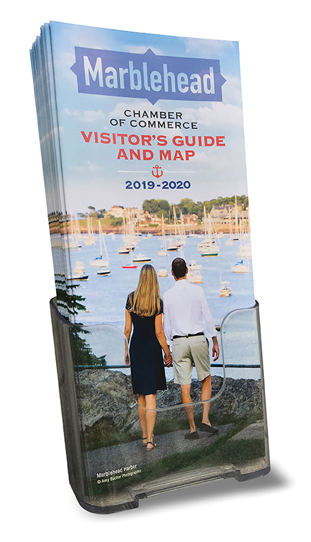 2018 Visitor's Guide in stand