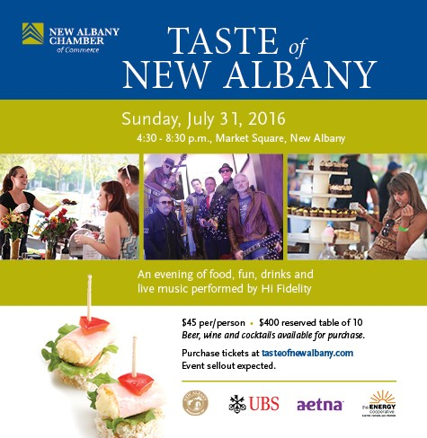 Taste of New Albany 2016