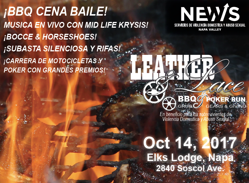 Leather & Lace: ¡BBQ CENA BAILE!