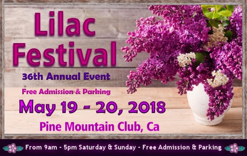 Lilac Festival Pine Mountain Club CA