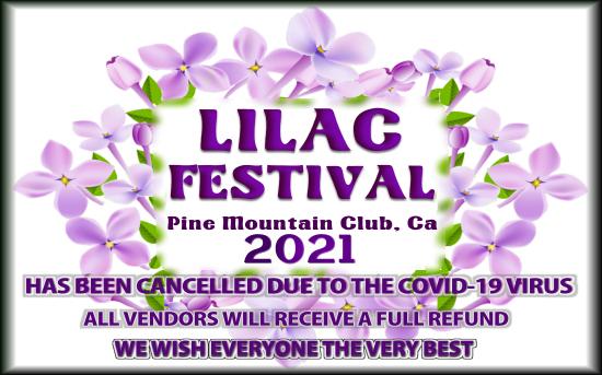 Lilac Festival Pine Mountain Club CA