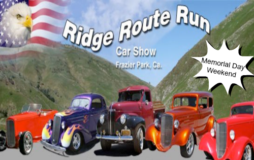 Ridge Route Run Car Show Frazier Park CA