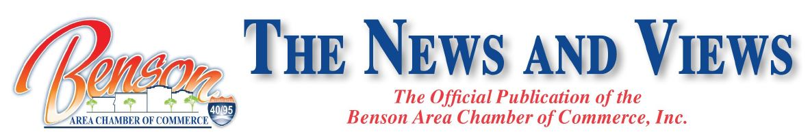Benson Area Logo - The News and Views text
