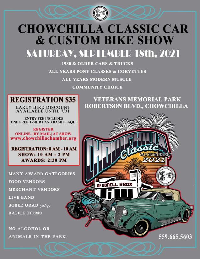 2021 Classic Car and Custom Bike Show
