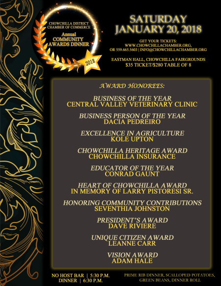 Chamber Honorees