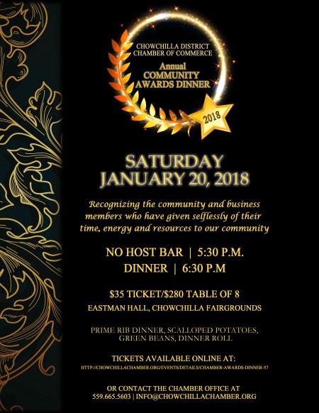 Chamber Community Awards Dinner