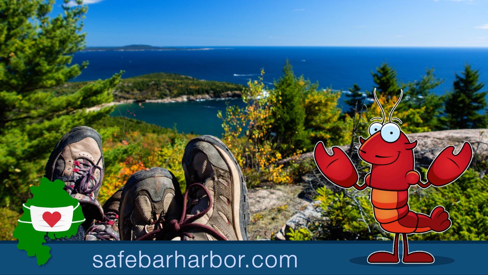 Safe Bar Harbor Maine Acadia National Park