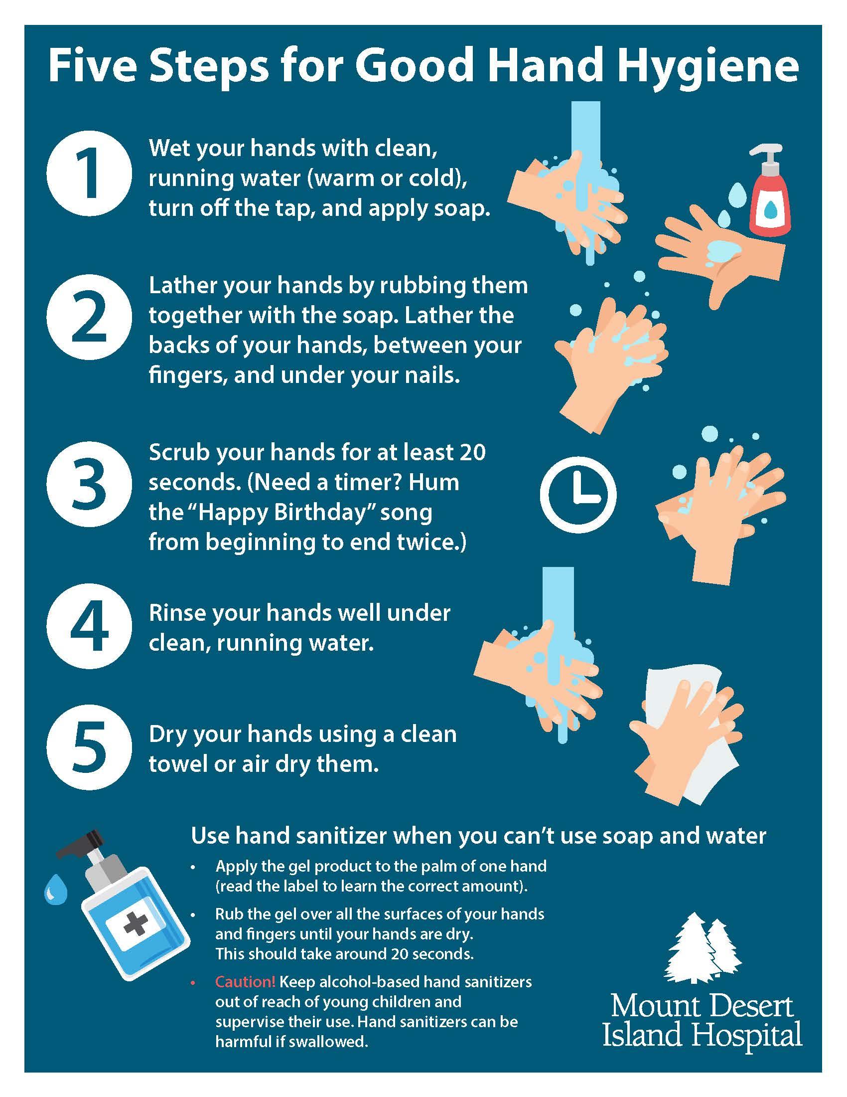 MDI-Hospital Public Hand Hygiene Tips