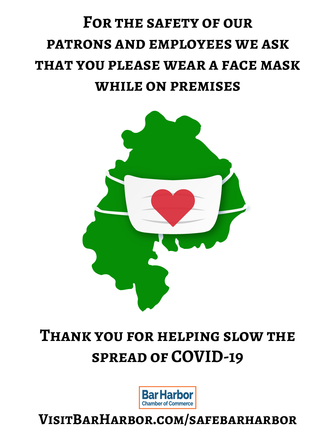 Bar Harbor Safety Face Coverings