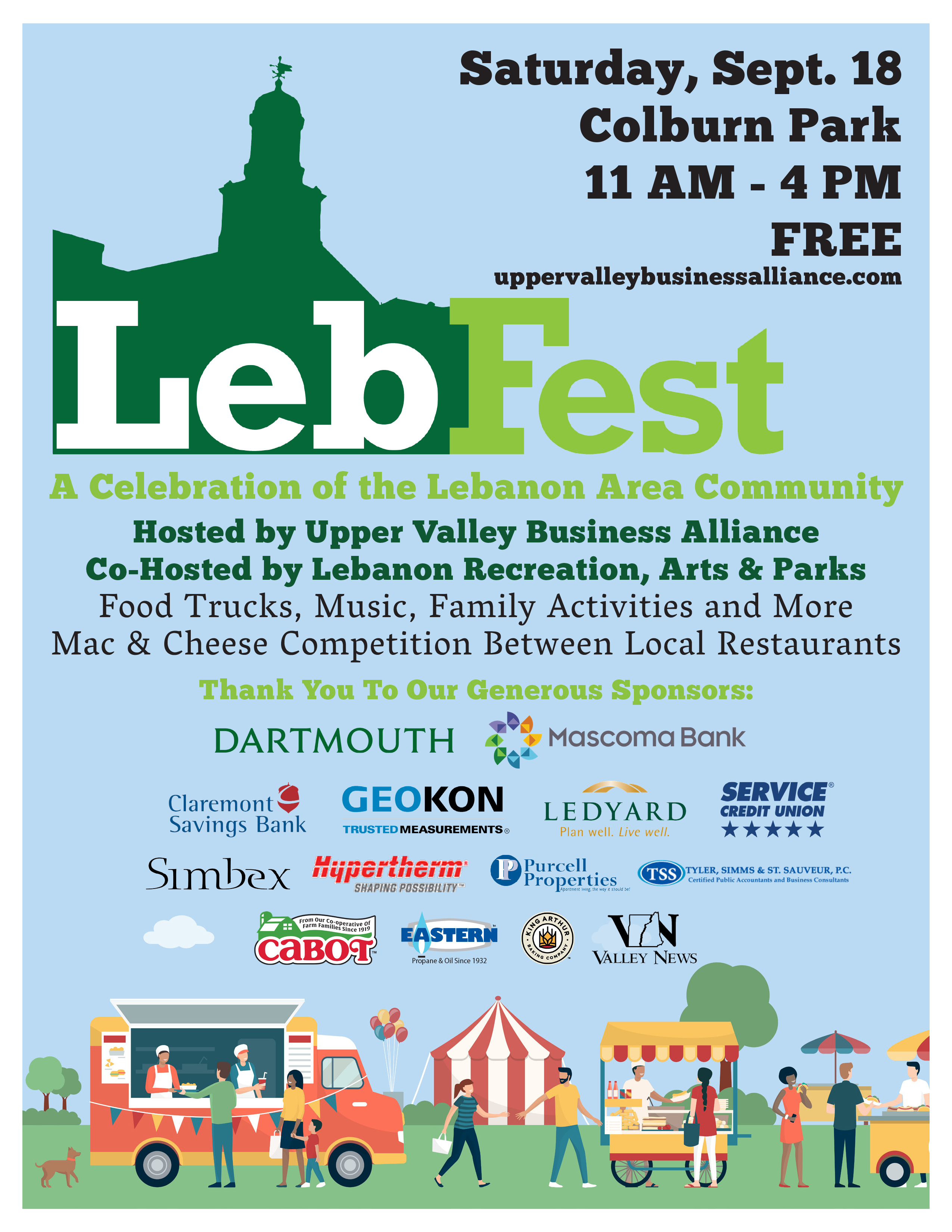 LebFest Lebanon NH September 18 2021