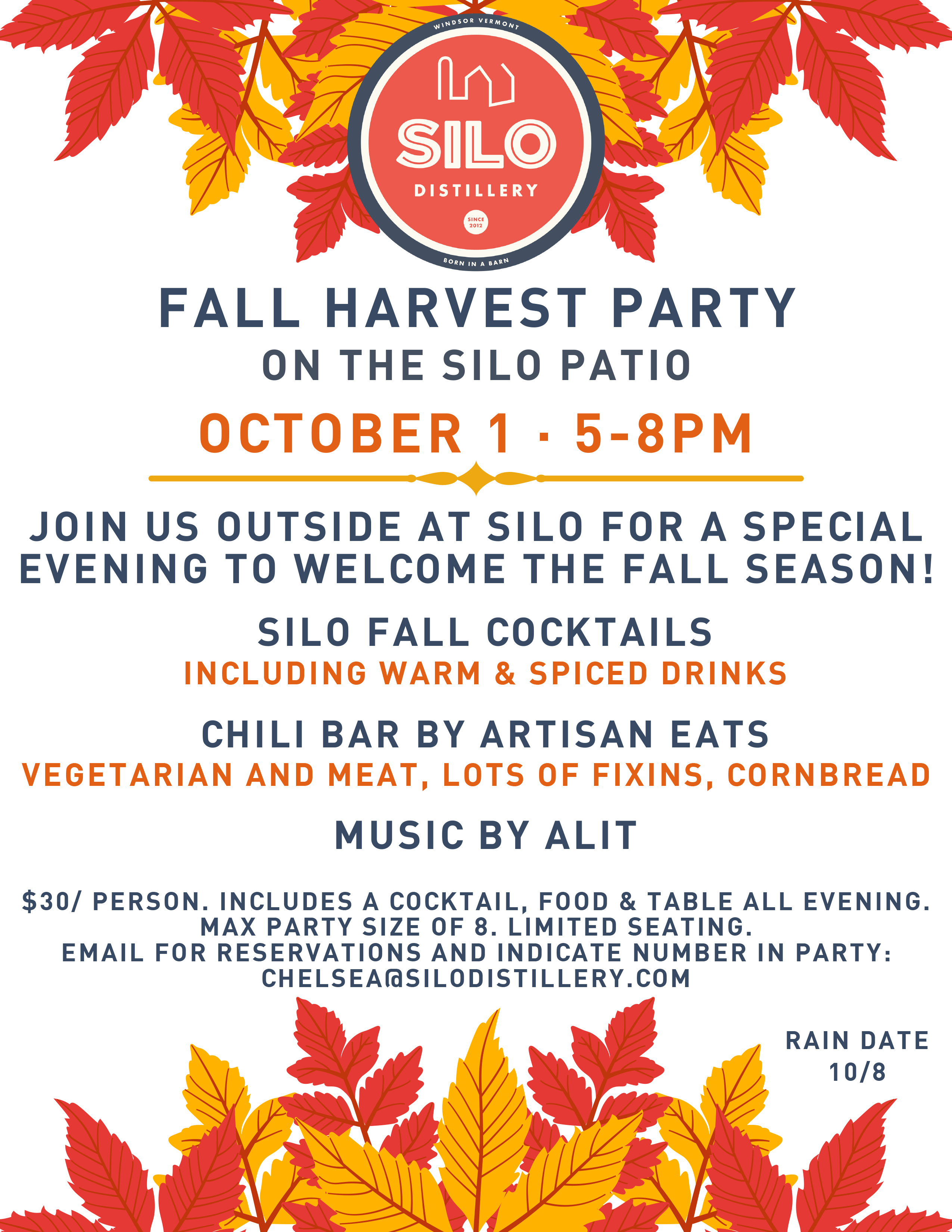SILO Fall Harvest Party October 1 2021