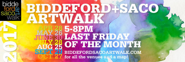 Biddeford+Saco Artwalk