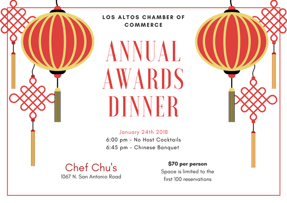 Annual Awards Dinner Flyer