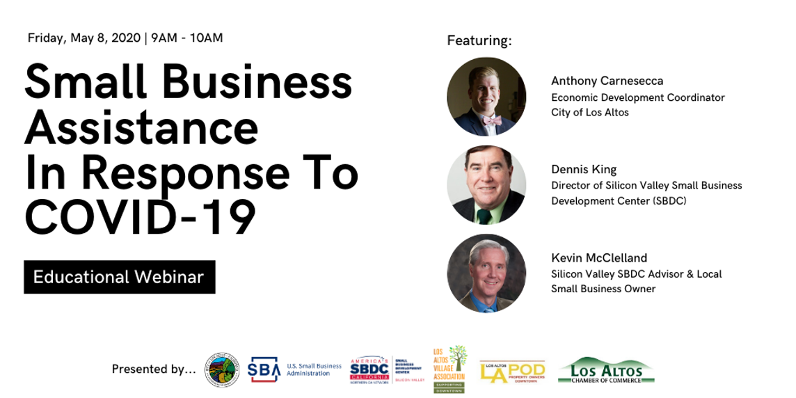 Small Business Assistance in Response to COVID-19 - City of Los Altos