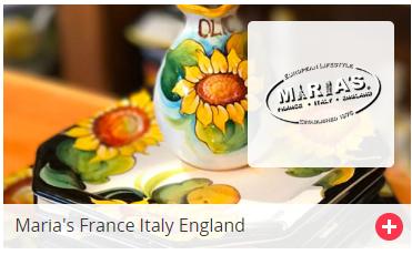 Maria's France Italy England Los Altos Gift Card
