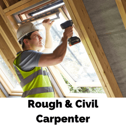 Rough and Civil-Carpenter Apprenticeship