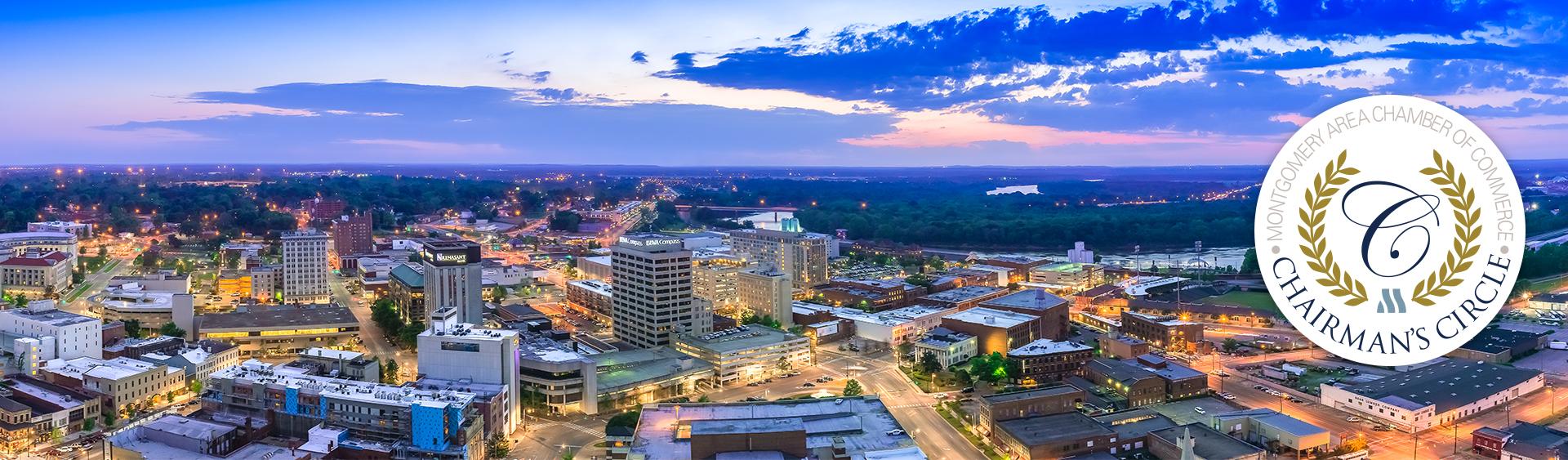 Eric Salas, Montgomery Skyline, Montgomery Area Chamber of Commerce,Montgomery Chamber, MGMChamber, Downtown Montgomery, Montgomery Alabama, Chairman's Circle