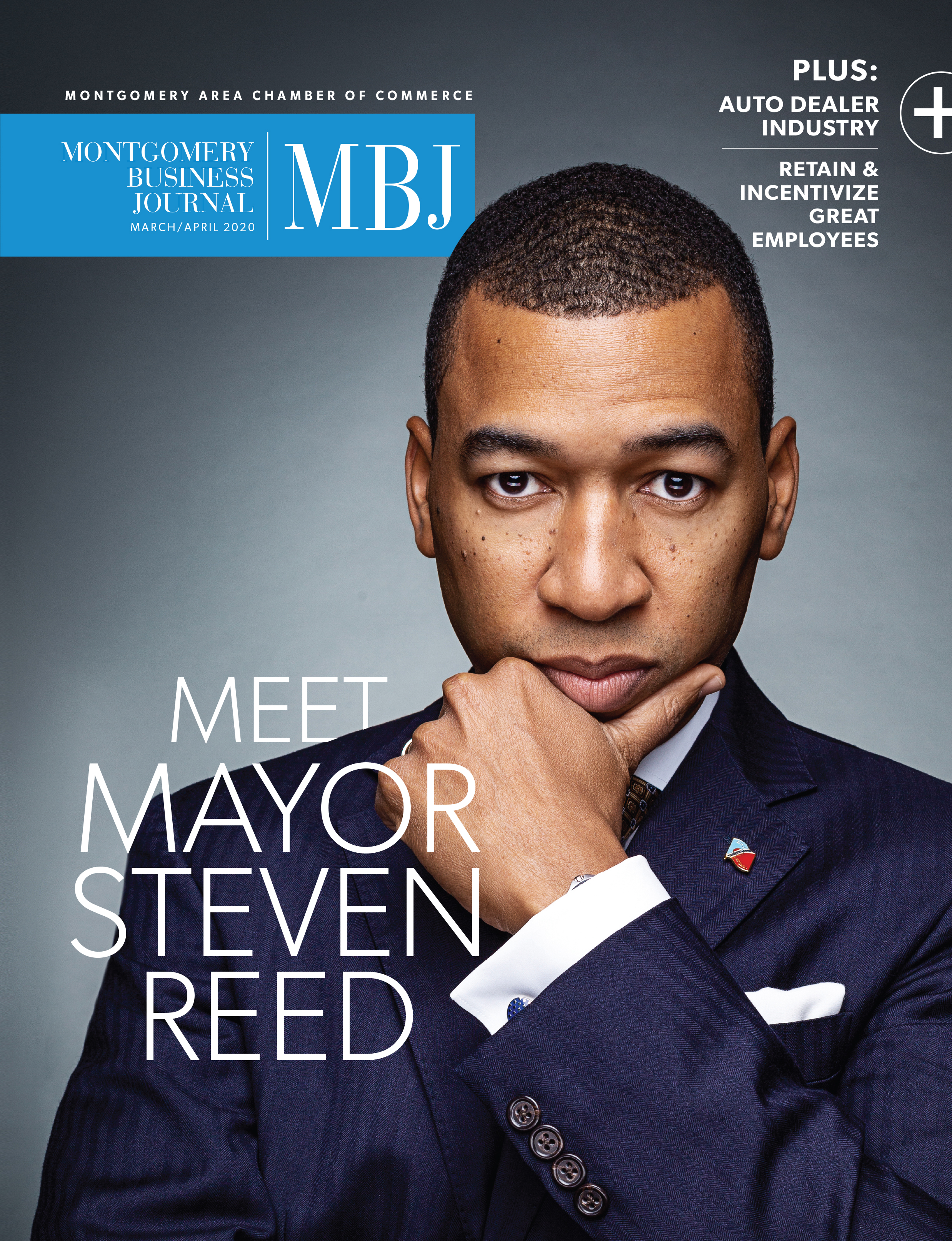 March 2020 MBJ, Mayor Steven L. Reed, Montgomery AL, Montgomery Chamber of Commerce, Montgomery Chamber, City of Montgomery, Montgomery Business Journal, MBJ