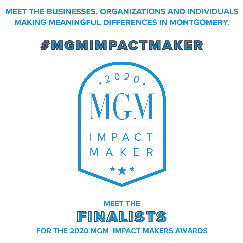 November 2020 MBJ, MBJ, Impact Makers Award, Montgomery Area Chamber of Commerce, River Region, Montgomery Chamber, MGM, City of Montgomery, Montgomery County