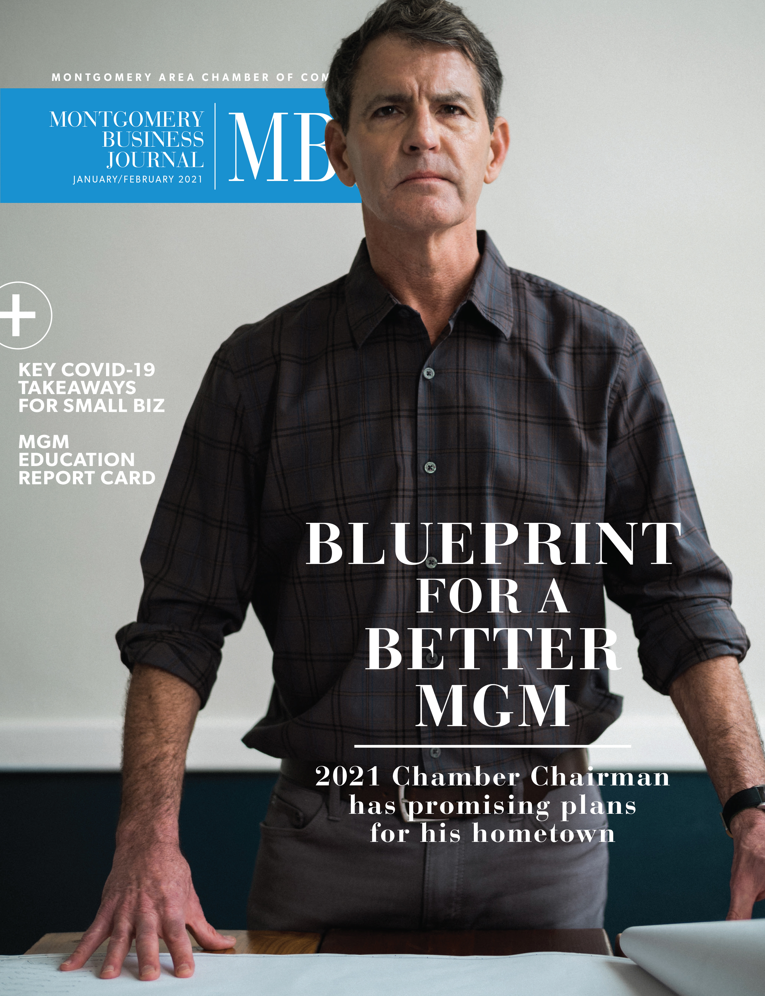 Montgomery Business Journal, MBJ. January 2021, Montgomery Chamber