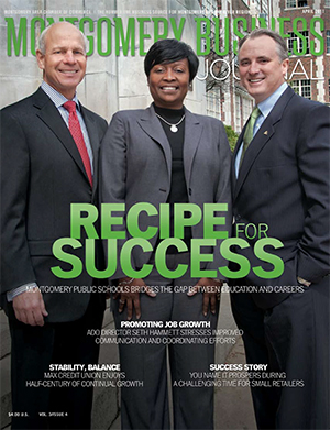 April 2011 MBJ, Montgomery Business Journal, Montgomery Chamber, Montgomery Public Schools Bridges the Gap