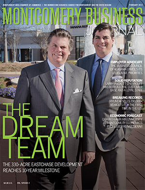 February 2013 MBJ, Montgomery Business Journal, Montgomery Chamber, EastChase, Jim Wilson & Associates
