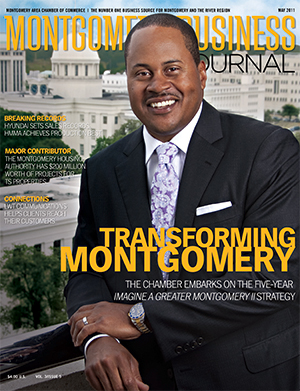May 2011 MBJ, Montgomery Business Journal, Montgomery Chamber, Kenny Coleman