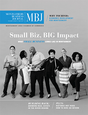 May 2017 MBJ, Montgomery Business Journal, Montgomery Chamber, Small Business
