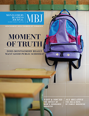 May 2018 MBJ, Montgomery Business Journal, Montgomery Chamber, Montgomery Public Schools